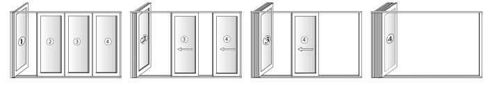 Sliding Door Diagram