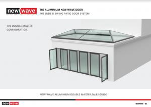 Aluminium Slide & Swing Patio Door