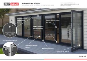 Energy Efficient Aluminium New Wave Door